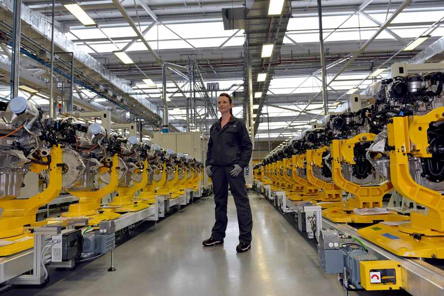 Fit for a Queen: Inside the new Jaguar Land Rover plant | Express &