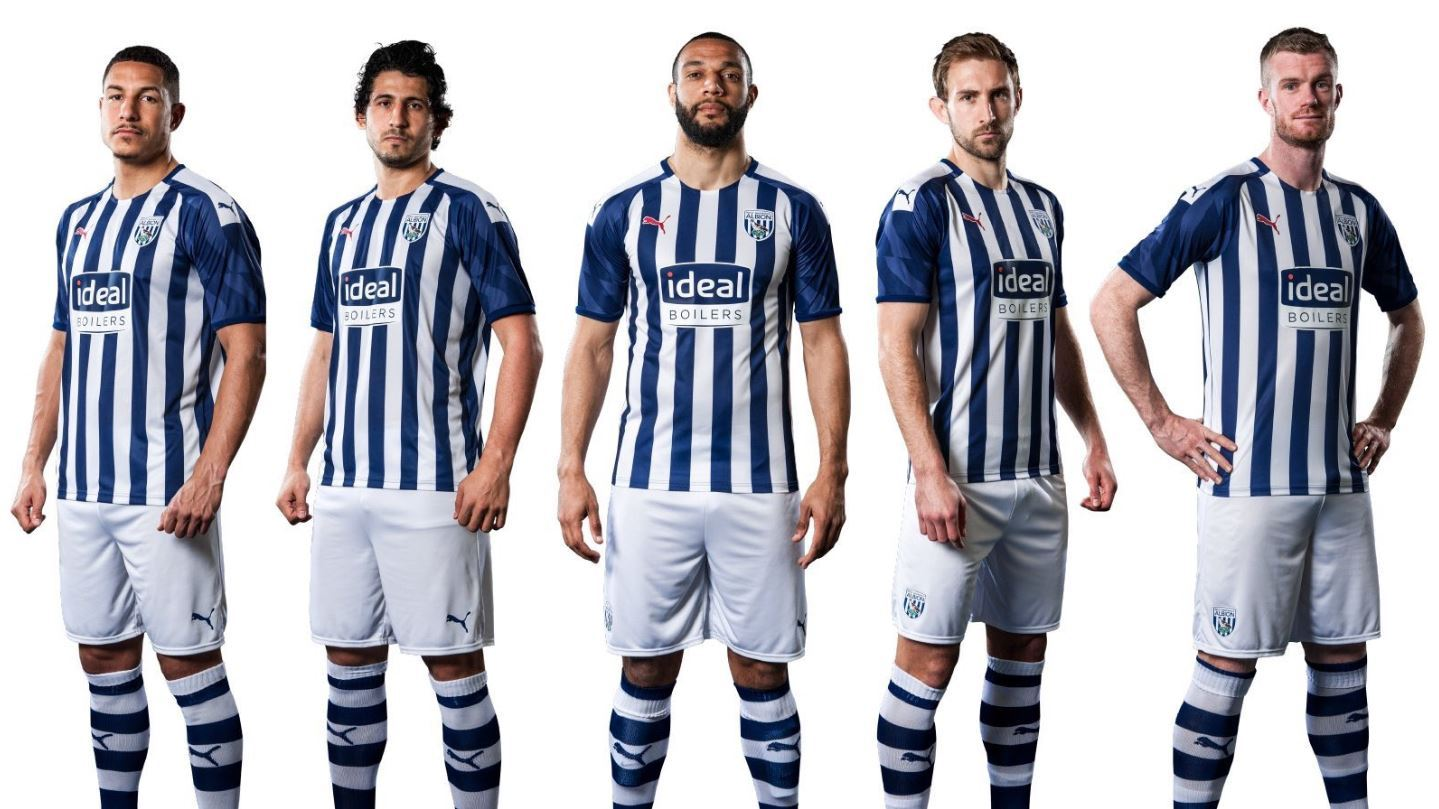 West Brom Unveil 2019 20 Home Kit Express Star