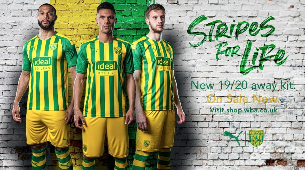 West Brom Reveal 2019 20 Away Kit Express Star