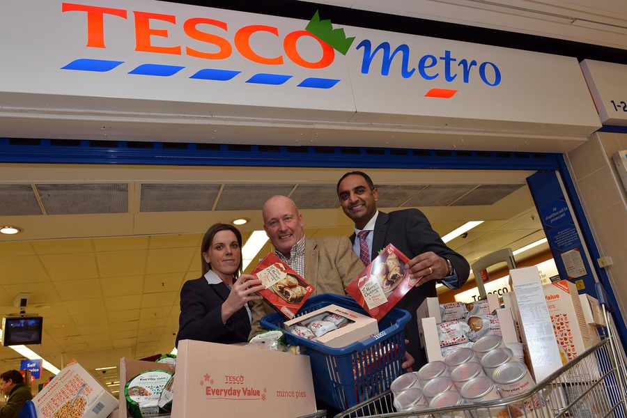 Every Little Helps Generous Tesco Staff Step In After