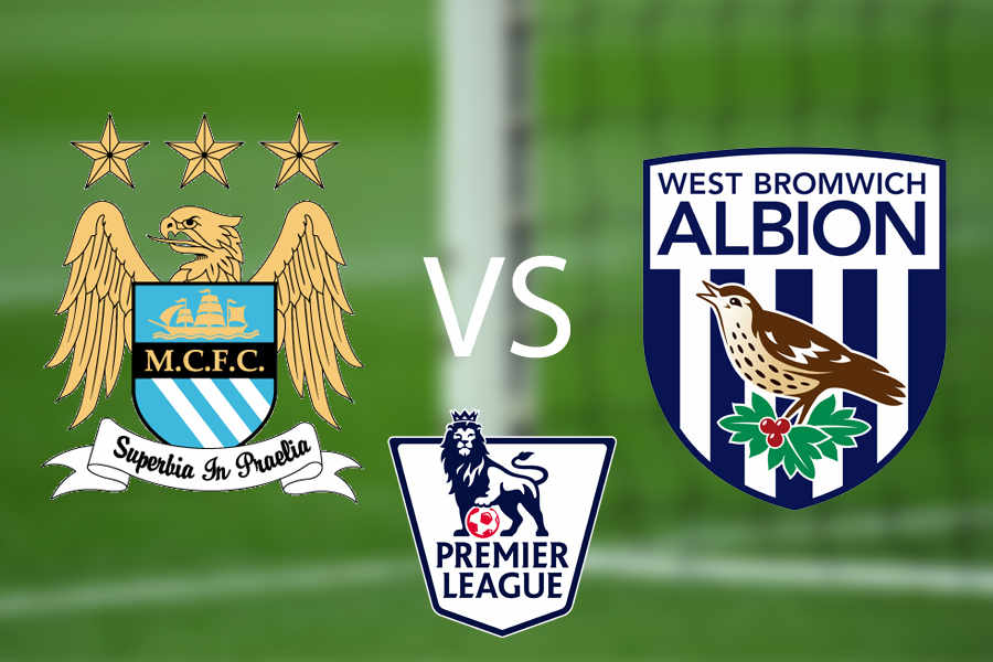 Image result for West Brom vs. Manchester City