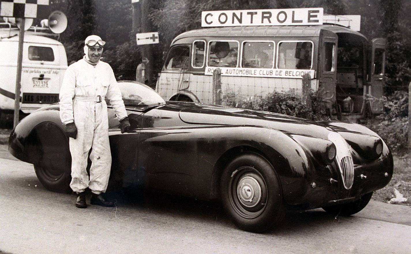 Tributes to Jaguar's king of speed