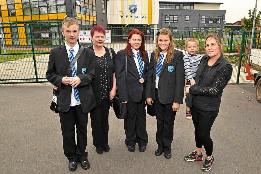 Pupils treated like prisoners for wearing wrong shoes or