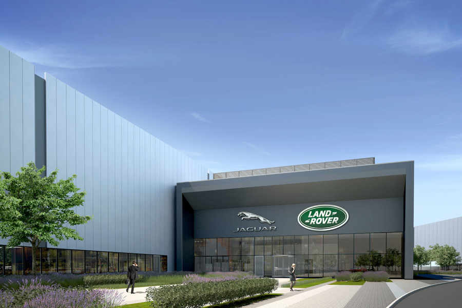 Jaguar Land Rover to invest £450m to double size of Wolverhampton