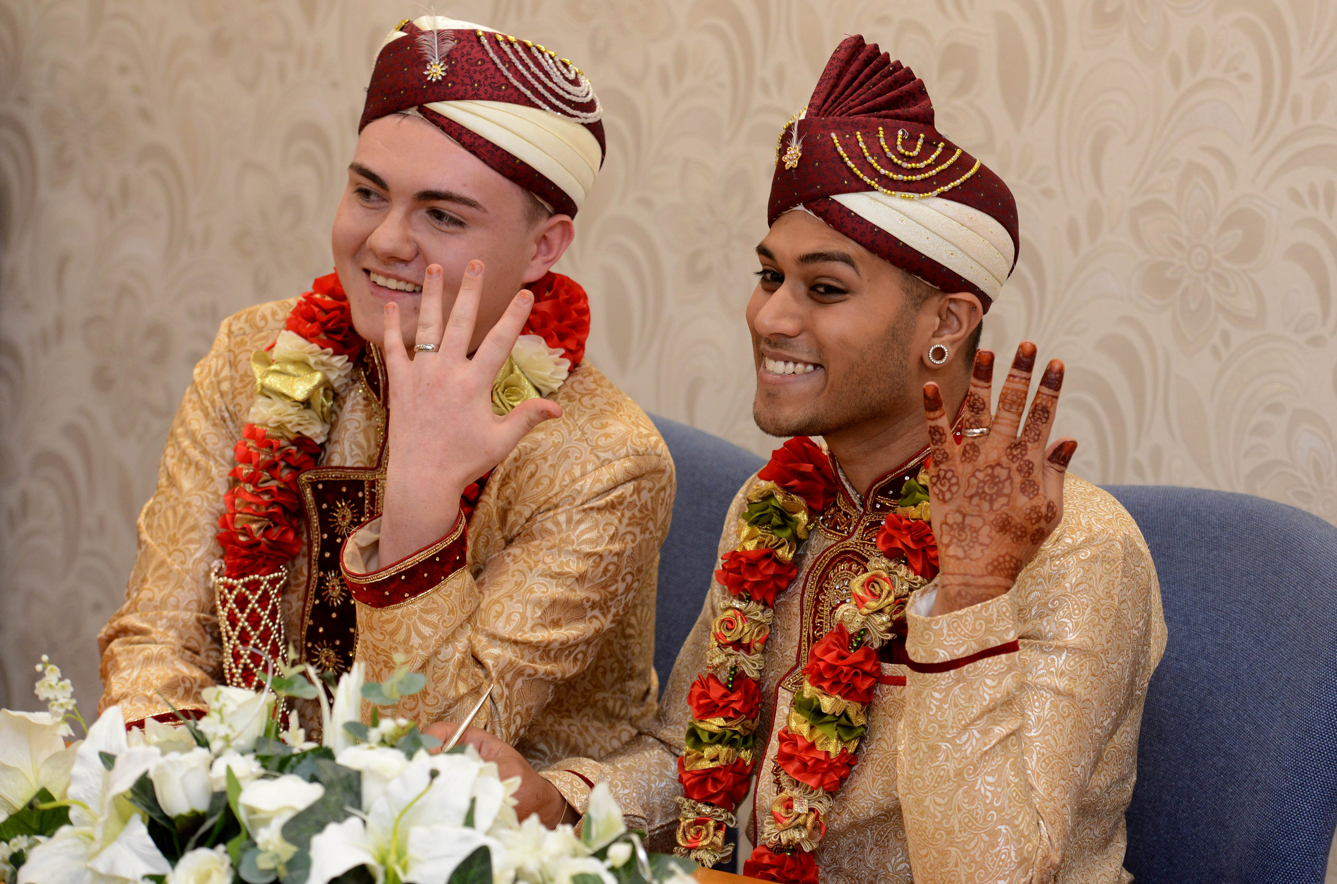 WATCH: Delighted Walsall couple in UK's first gay Muslim