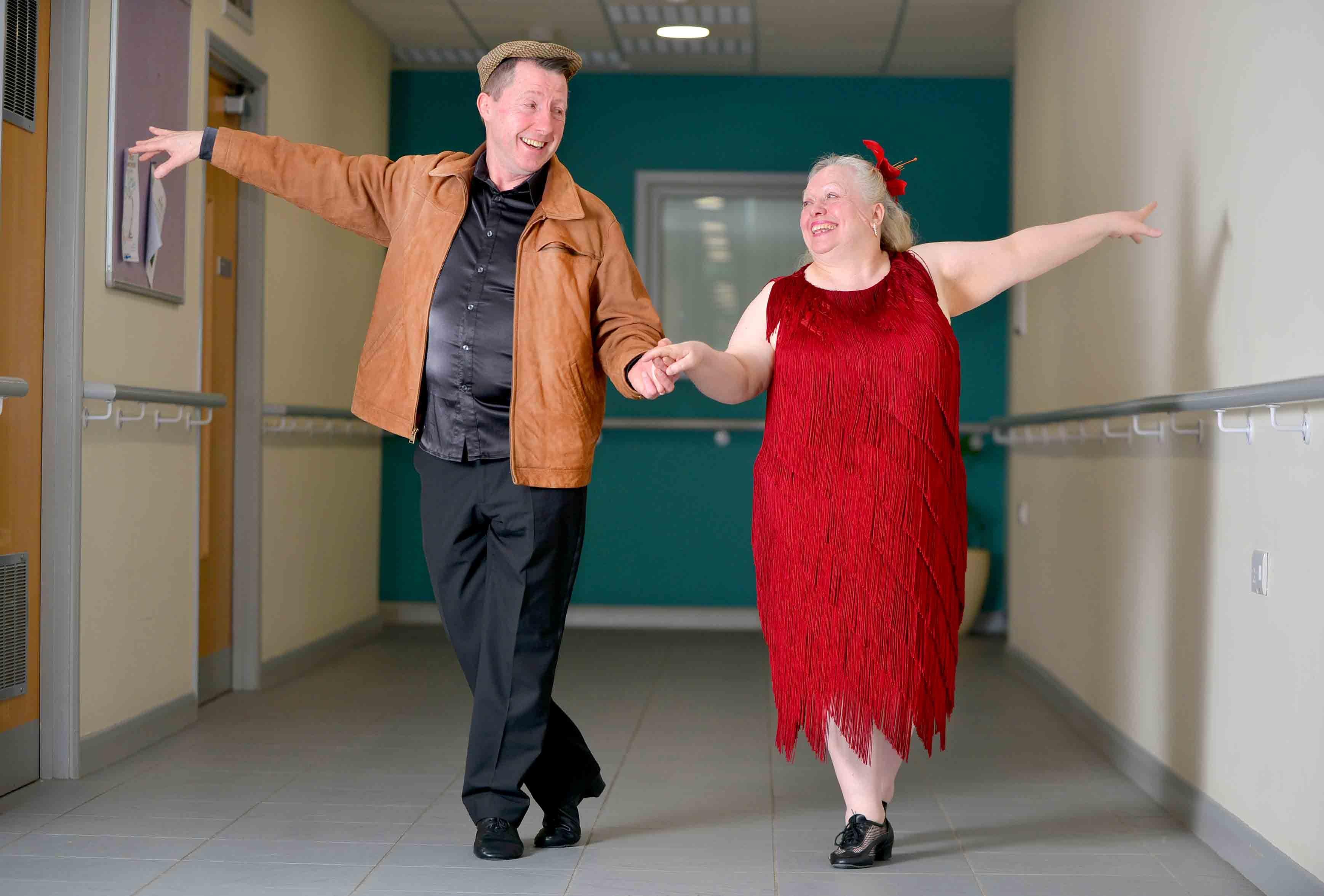 Dancing Wolverhampton grandparents going for BGT glory