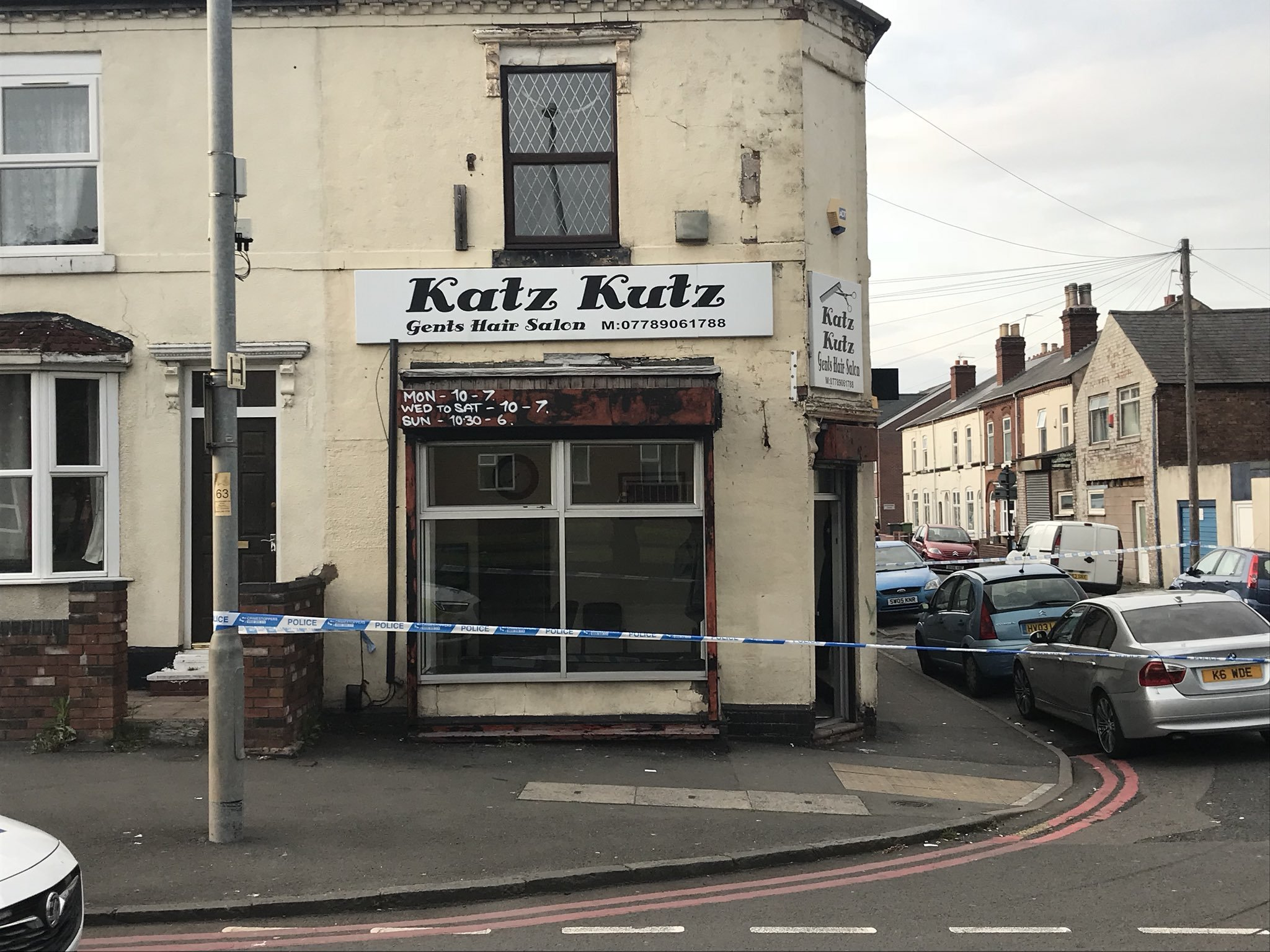 Second teenager arrested over Walsall barber shop shooting